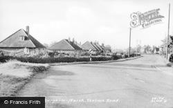 Burgh Le Marsh, Station Road c.1955