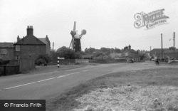 The Windmill c.1952, Burgh Le Marsh