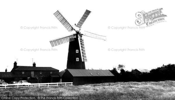Burgh Le Marsh,the Windmill c1955,Lincolnshire