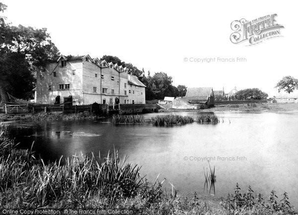 Burgh Next Aylsham, Burgh Mill 1902