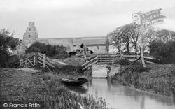 Burgh St Peter, From River Waveney 1893
