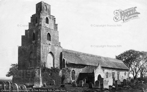 Burgh St Peter, St Mary's Church 1893
