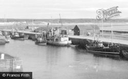 Burghead, The Harbour c.1960