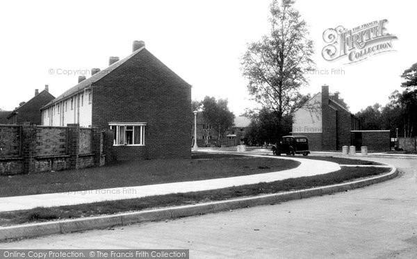 Burghfield Common, Benhams Firs Estate c1955
