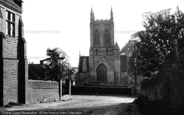 Burham, St Mary's Church And War Memorial 1951