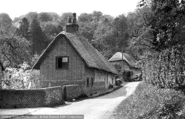 Buriton, South Lane c.1950