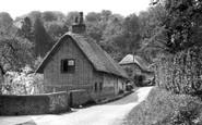 Buriton, South Lane c.1950