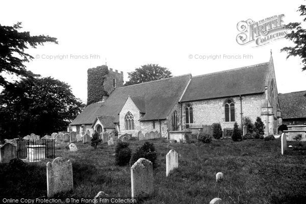 Buriton, The Church Of St Mary 1898