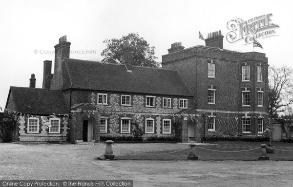 Buriton, The Manor House c.1960