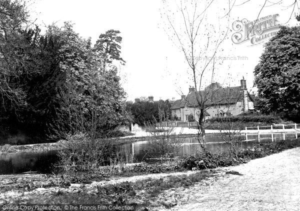 Buriton, The Pond c.1960