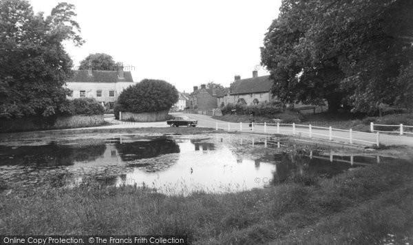 Buriton, The Pond c.1960