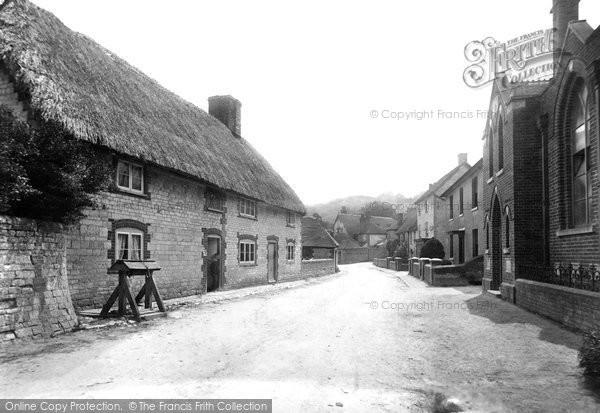 Buriton, The Street 1898