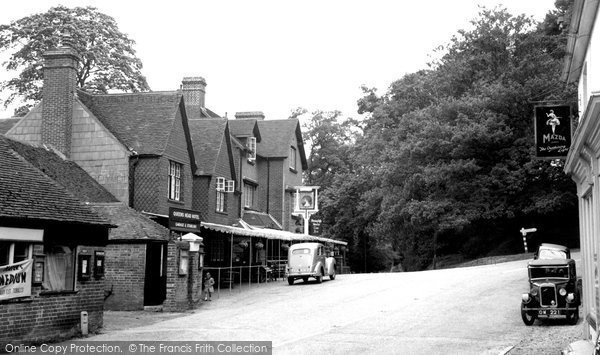 Photo of Burley, c1950