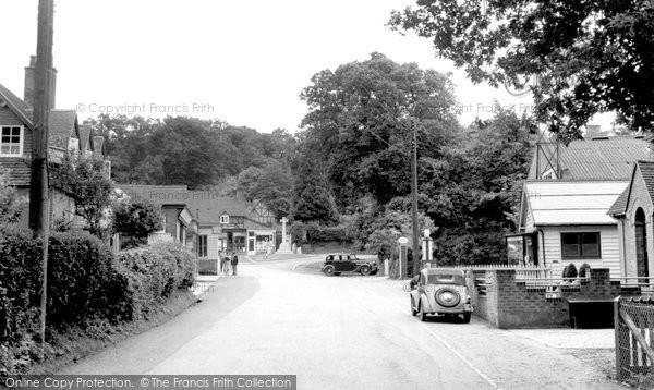 Photo of Burley, c1955