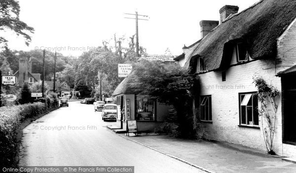 Photo of Burley, Manor Farm Tea Gardens c1960