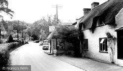 Burley, Manor Farm Tea Gardens c.1960
