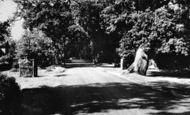 Burley, Pound Lane c.1955