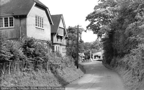 Burley, Pound Lane c.1960