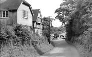 Burley, Pound Lane c.1960