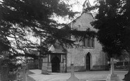 Burley, St John the Baptist Church c1955