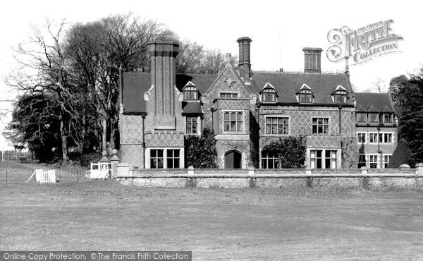 Photo of Burley, the Manor Hotel c1955