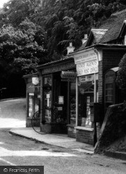 Burley, The Post Office c.1960