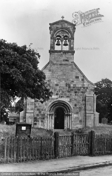 Burnby, Village Church c.1955