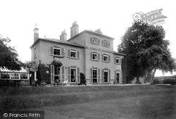 Burneston, Burneston Hall 1900