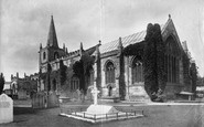 Burneston, St Lambert's Church 1900