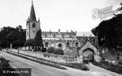 Burneston, St Lambert's Church c.1960