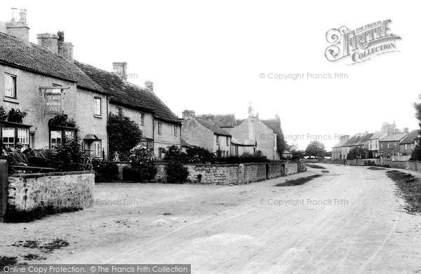 Burneston, The Village 1900