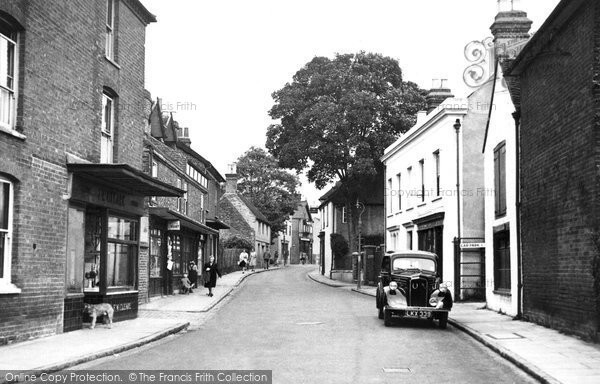 Photo of Burnham, High Street c1955