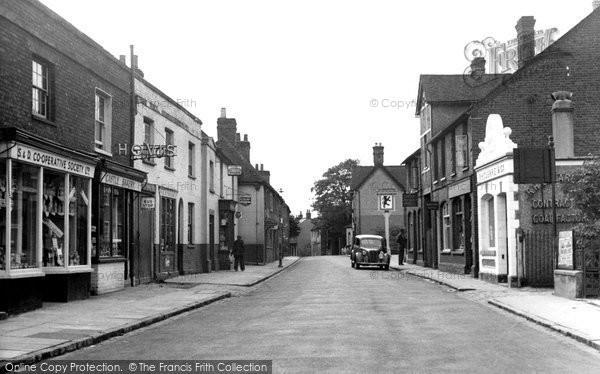 Burnham, High Street c.1955