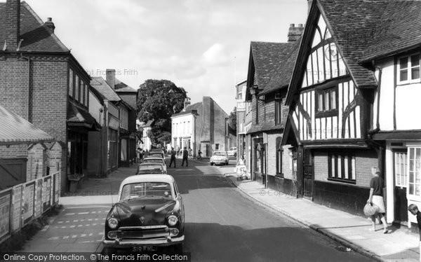 Photo of Burnham, High Street c1965