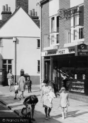 Burnham, High Street, Outside Post Office c.1968