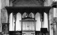 Burnham Norton, St Margaret's Church, Interior c.1955