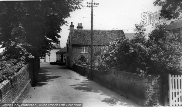Burnham On Crouch, Belvedere Road c.1965