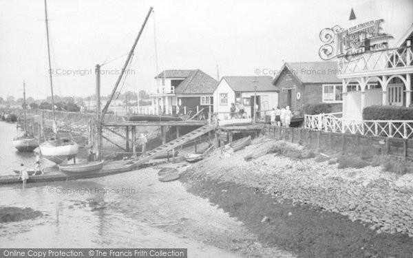 Burnham On Crouch, Burnham Sailing Club And Crouch Yacht Club c.1950