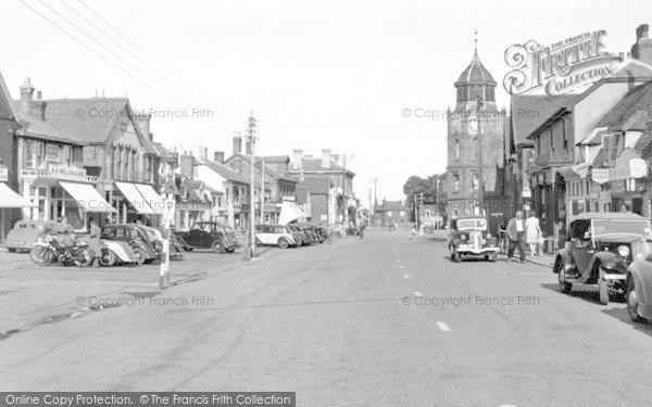 Burnham On Crouch, High Street c.1955