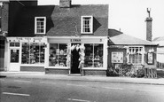 Burnham-on-Crouch, Shops In The High Street c.1965