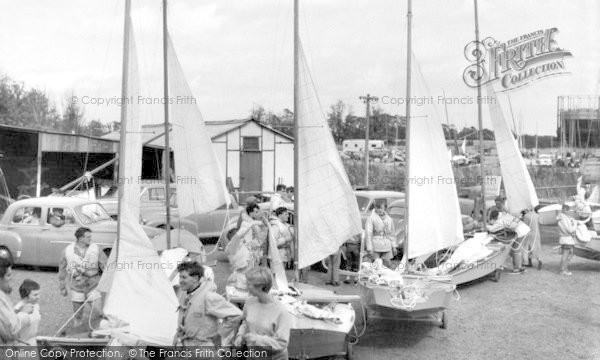 Photo of Burnham-On-Crouch, the Dinghy Park c1960, ref. B325066