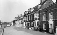Burnham-on-Crouch, The Olde White Harte Hotel c.1965