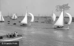 Burnham-on-Crouch, the River c1965