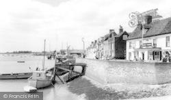 Burnham-on-Crouch, Town Steps c.1965