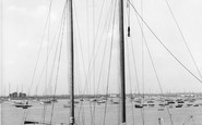 Burnham-on-Crouch, Yacht On The River Crouch c.1965