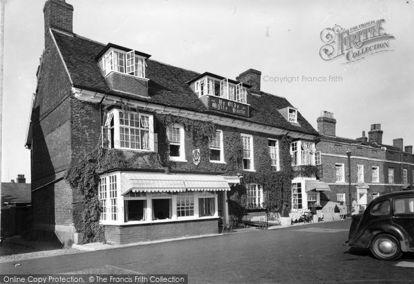 Burnham On Crouch, Ye Olde White Harte Hotel c.1950