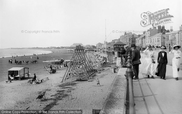 Burnham On Sea,  1913
