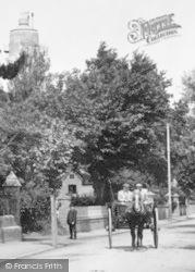 Burnham-on-Sea, A Horse Cart 1907