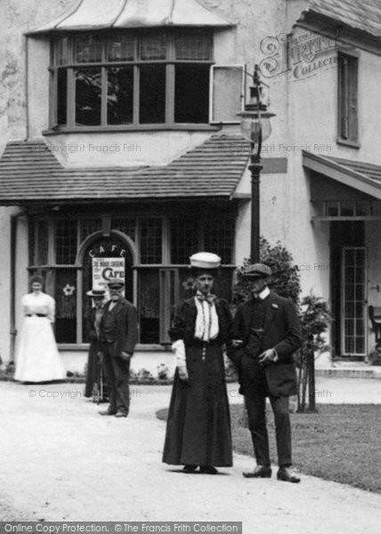 Burnham On Sea, A Sunday Stroll 1907