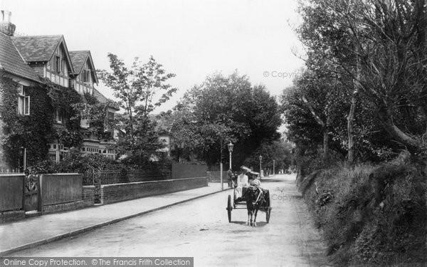 Burnham On Sea, Berrow Road 1907